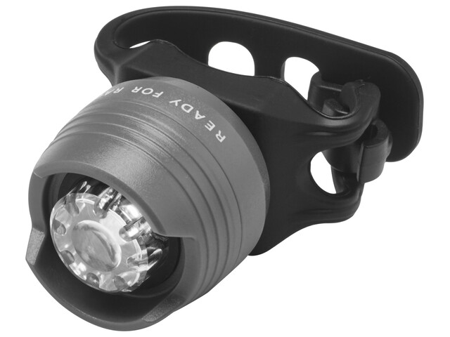 Cube RFR Diamond HQP Fietsverlichting white LED grijs/zwart